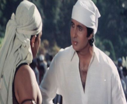 Amitabh and  Mithun