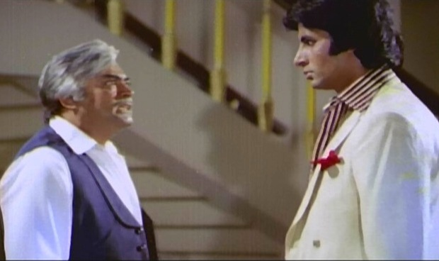 Amitabh  and Sanjeev Kumar