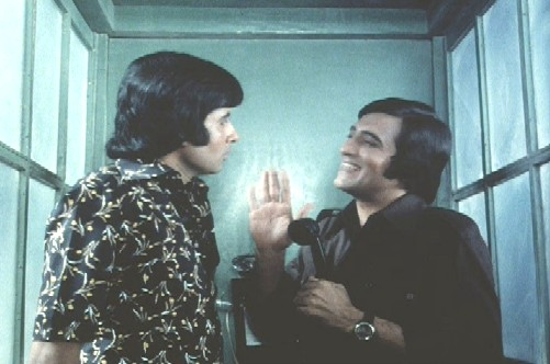 Amitabh and  Vinod Khanna